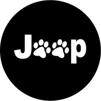 Jeep Paws Spare Tire Cover (15R)