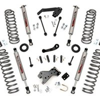 Rough Country - 681S - 4-inch Suspension Lift System w/ Performance 2.2 Shocks