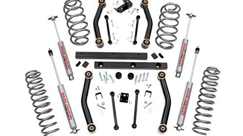 Rough Country 906S 4″ Suspension Lift Kit for Jeep TJ