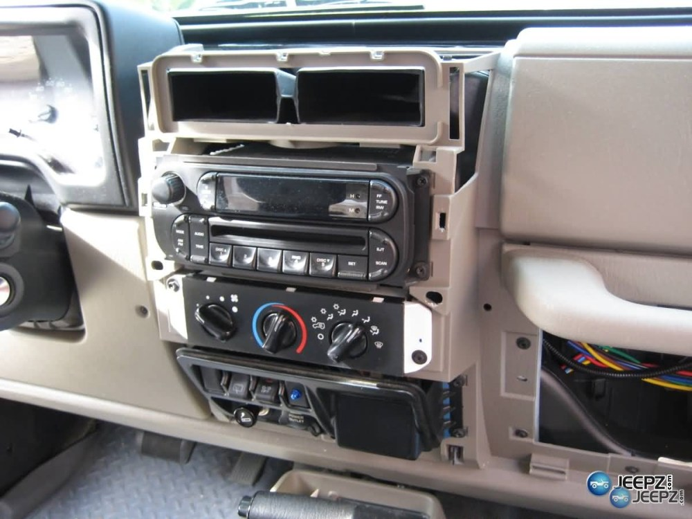 medium resolution of radio install on a wrangler img 0366 jeep radio install jpg
