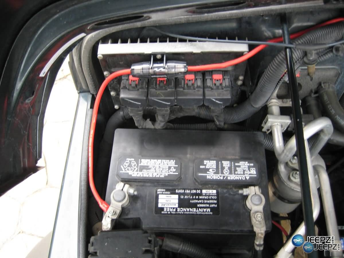 hight resolution of radio install on a wrangler img 0406 jeep radio install jpg