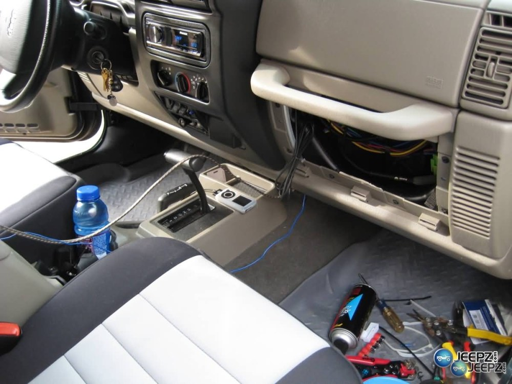 medium resolution of radio install on a wrangler img 0391 jeep radio install jpg