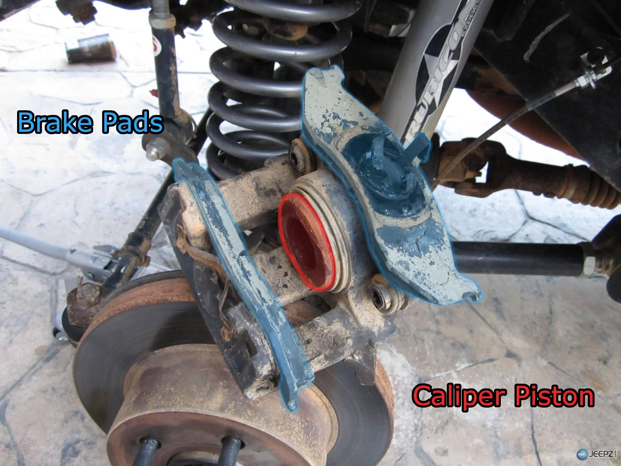 hight resolution of jeep brake pad change 7 wrangler caliper parts jpg