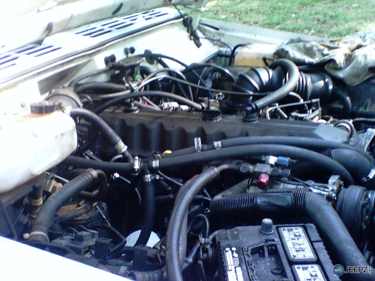 hight resolution of 1990 cherokee radiator without a cap question 1990jeep 002 jpg