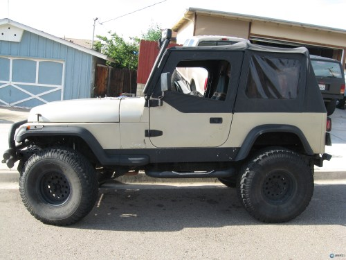 small resolution of jeep zj chop top
