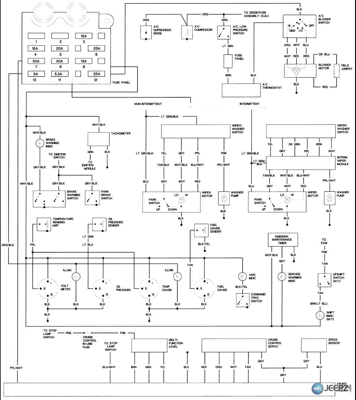 jeep tj radio wiring diagram neff fan oven element problem