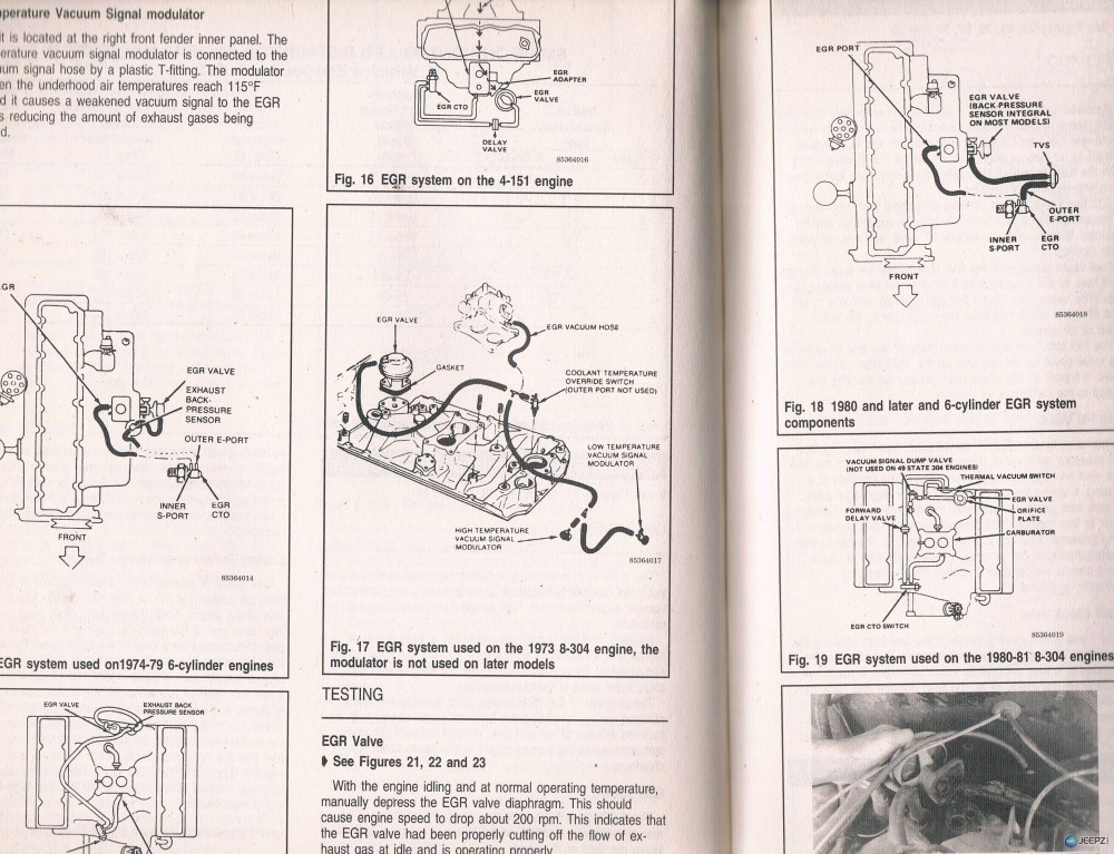 medium resolution of 304 v8 fuel and vac lines underhood jeep cj5 304 vacuum diagram