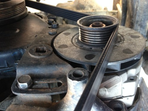 small resolution of 85 jeep cj7 california forgot how to put the alternator bracket on img 3899 1