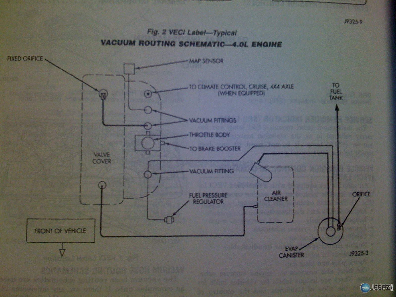 Jeep Grand Cherokee Vacuum Line Diagram On 73 Jeep Vacuum Diagram