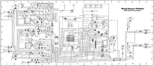 1975 Cj5 Wiring Diagram Cj Headlight Wiring Colors