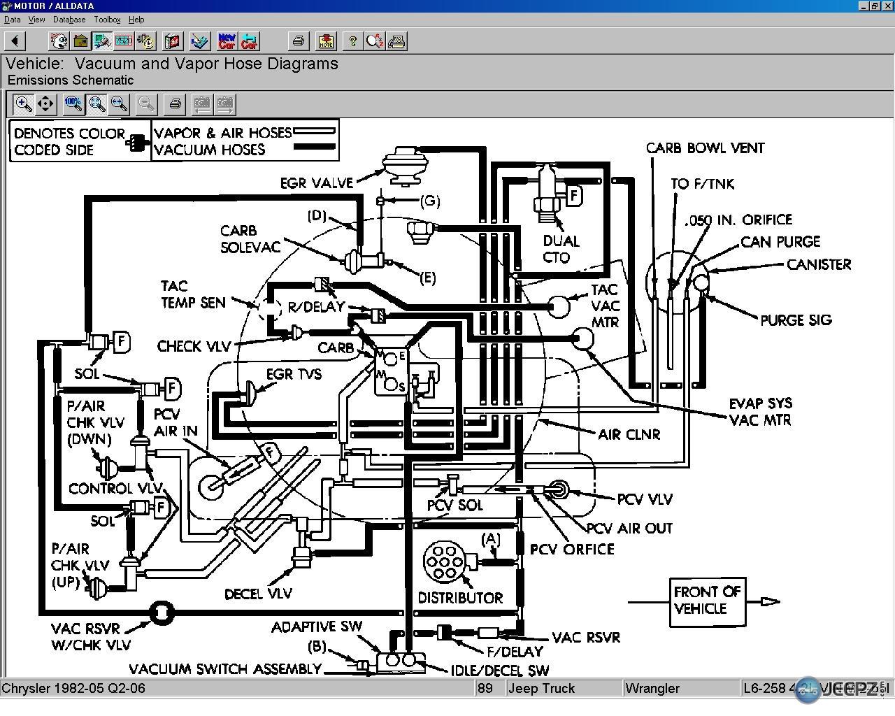carburetor vacuum line diagram farmall super c wiring edelbrock 1406 carb engine and