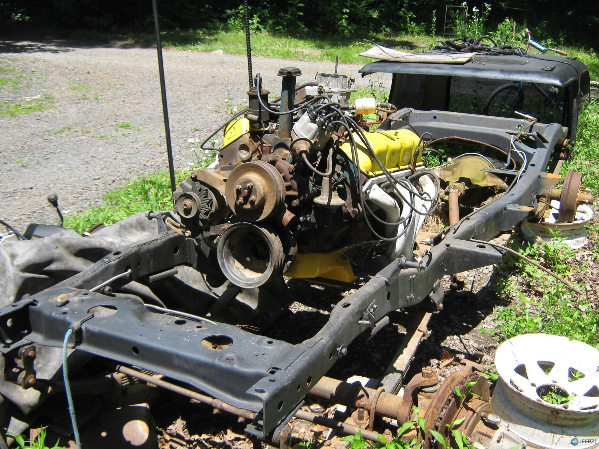 hight resolution of 81 cj7 frame parts rusty rusty rusty jeep frame 004 jpg