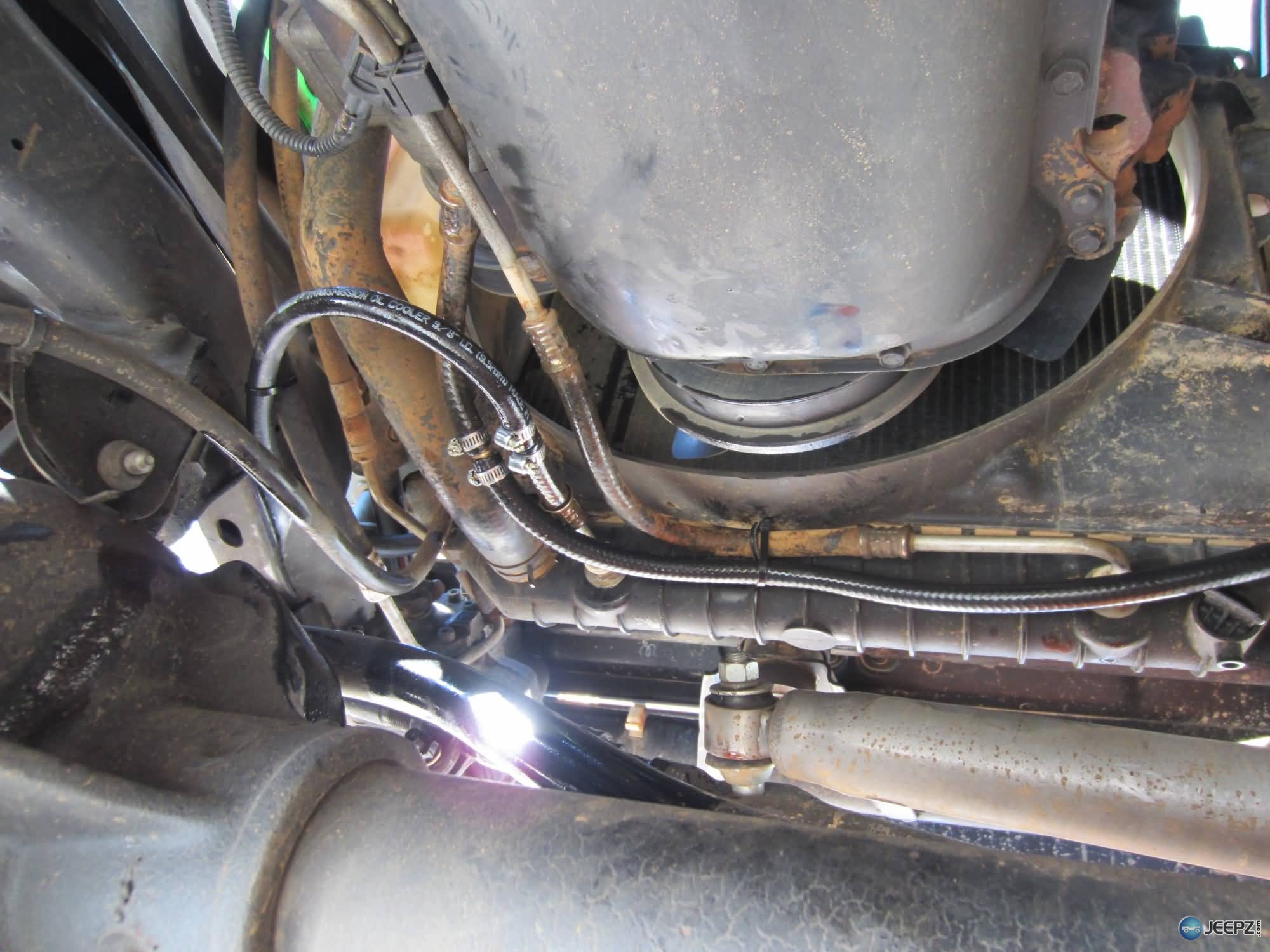 hight resolution of transmission cooler install 23 jeep wrangler automatic transmission cooler