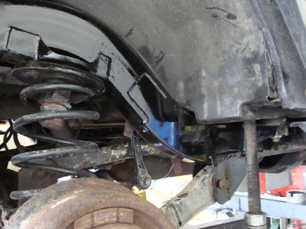 medium resolution of company that rebuilds quot rusted quot jeep tj frame