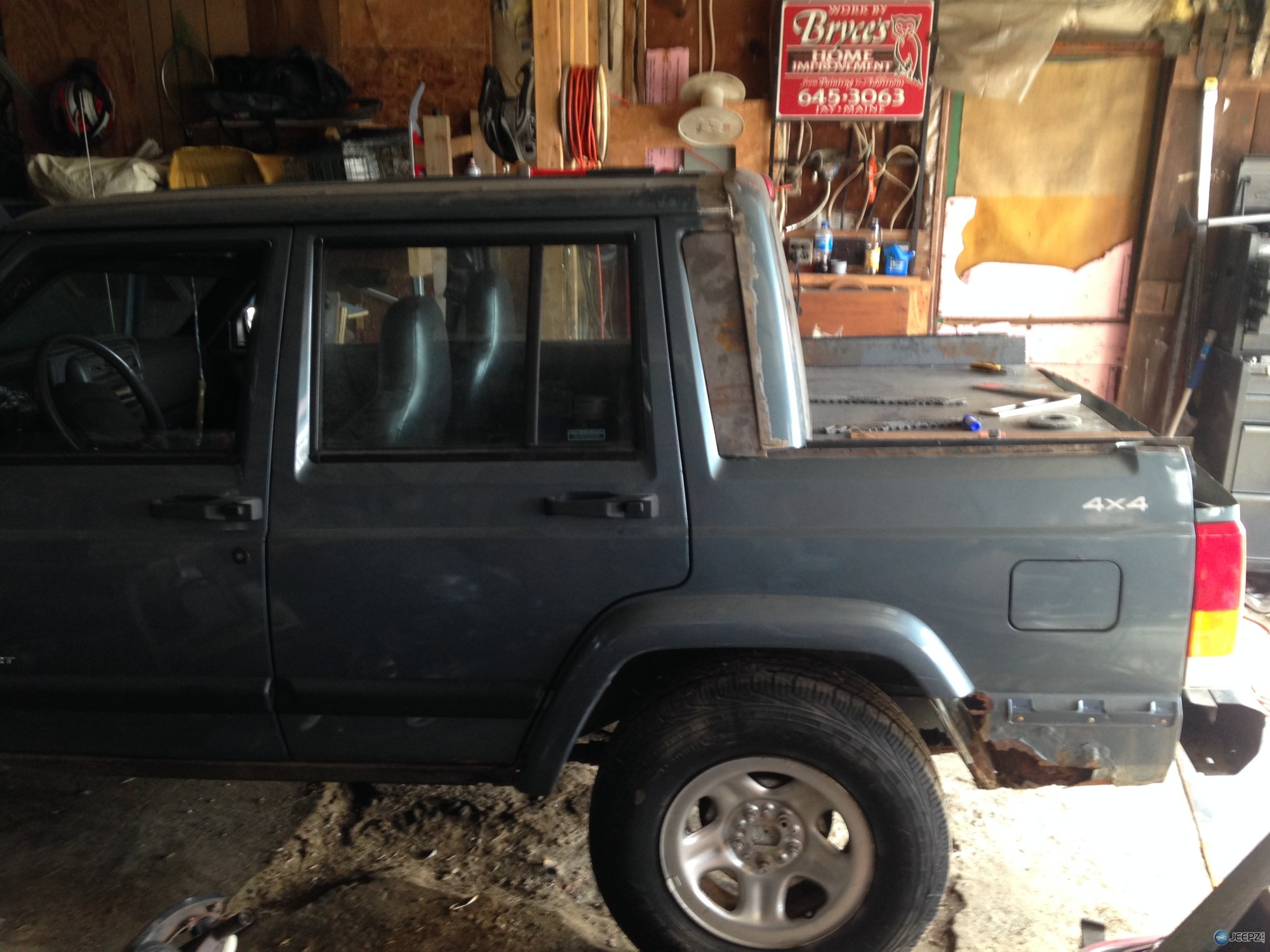 hight resolution of 99 jeep xj chopped