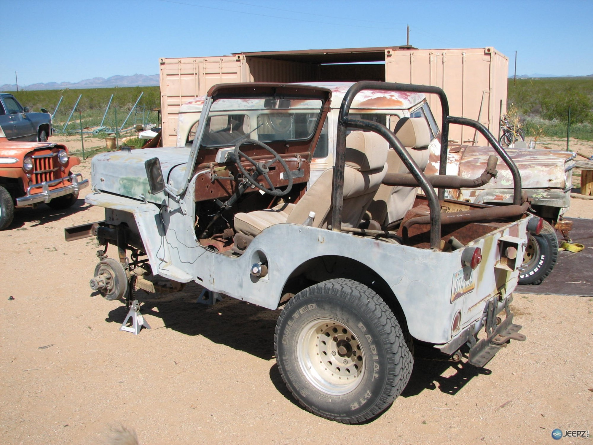 hight resolution of  quot b quot my 1954 willys cj3b build