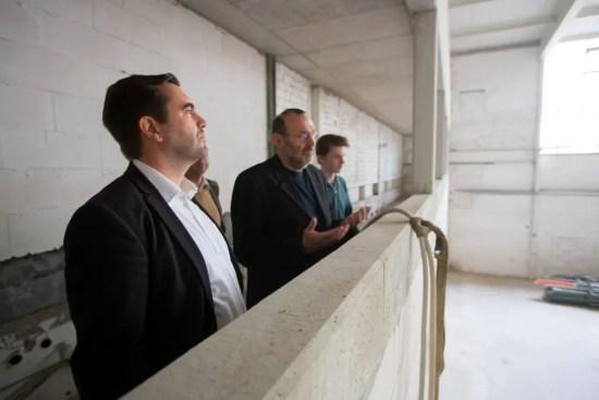 Frank Sitta in der Jeetzeschule in Salzwedel Sporthalle A