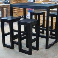 Chair Design Restaurant Seat Covers For Table Chairs Mange-debout N°1 - Jef Créations : Bijoux, Objets Et Mobilier Sur Mesure