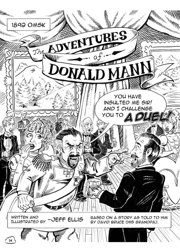 The Adventures of Donald Mann page 01