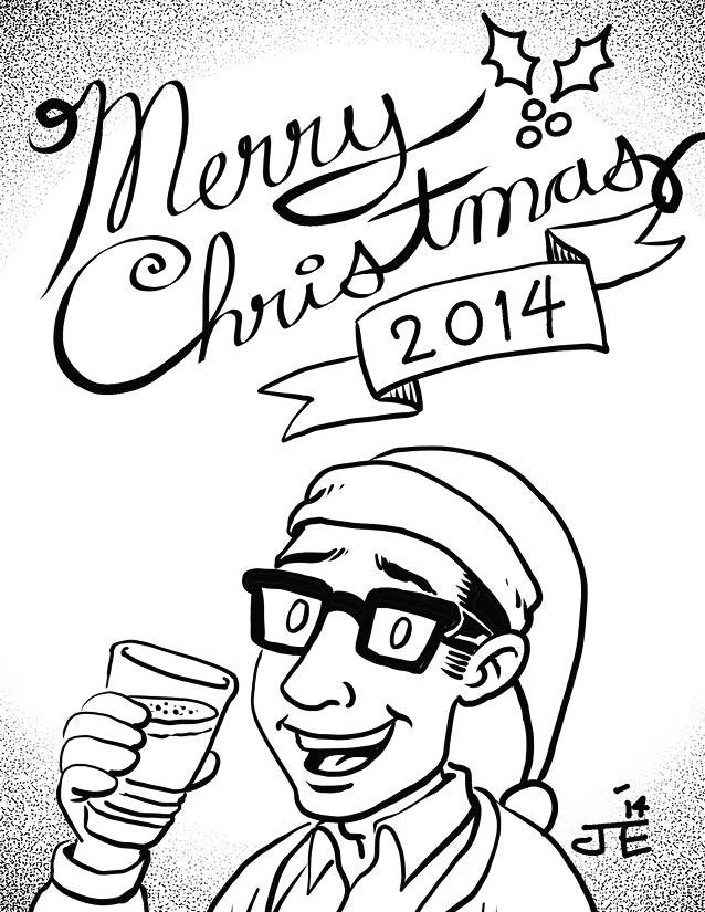 Christmas Comic 2014 – page 1