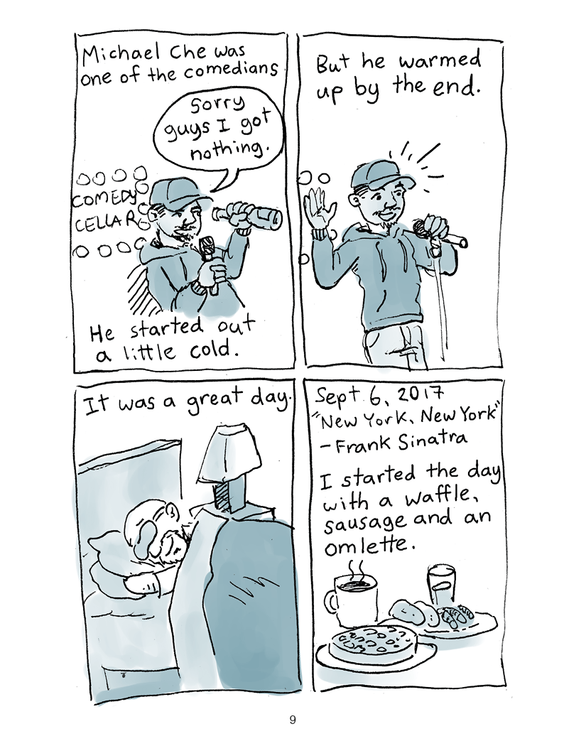 Tales From The Cruise page 9