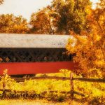 New England Photography of Creamery covered bridge