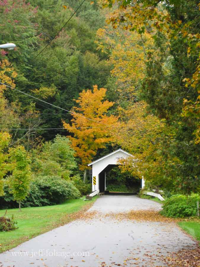 Montgomery VT the Covered Bridge capitol