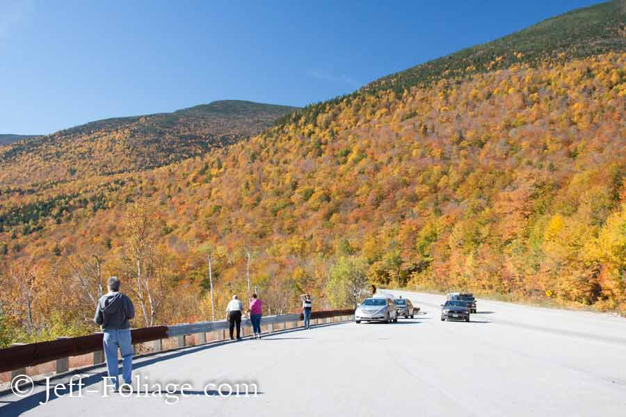 Pinkham Notch in the white Mountains of NH