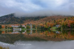 Fall foliage forecast for Dixville Notch in late September