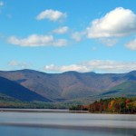 The Ashokan Reservoir (Native American for place of fish) is a reservoir in Ulster County, New York. The reservoir is in the eastern end of the Catskill Park
