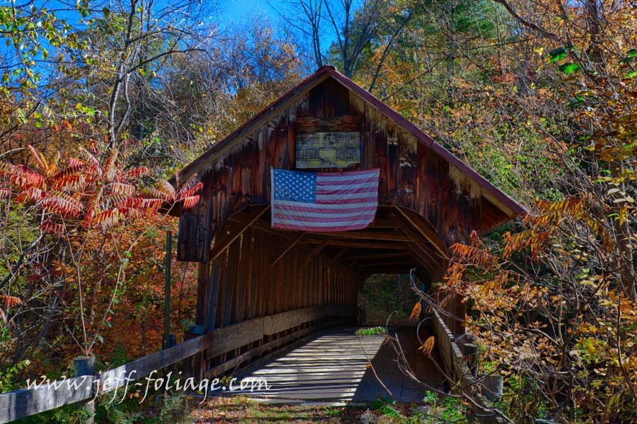Blacksmith shop covered bridge