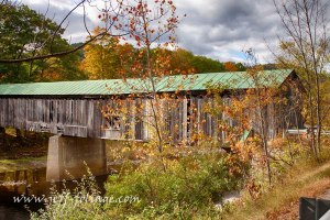 Covered bridge in Vermont