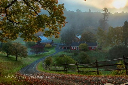 Autumn in Pomfret Vermont