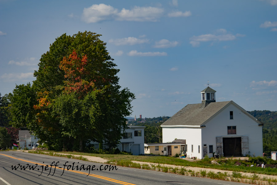 New England fall foliage photography