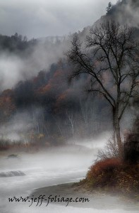 New England Photography of a foggy day in Vermont