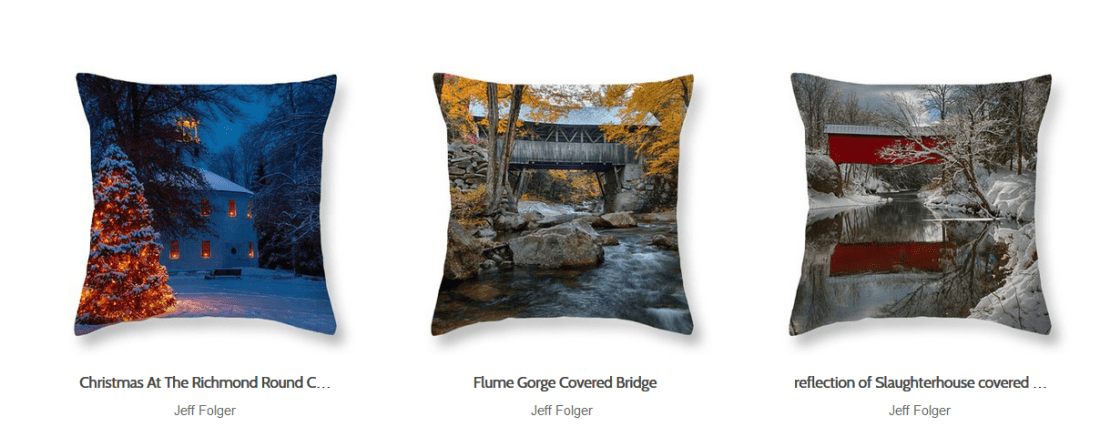 Great gift ideas of scenic New England Photography
