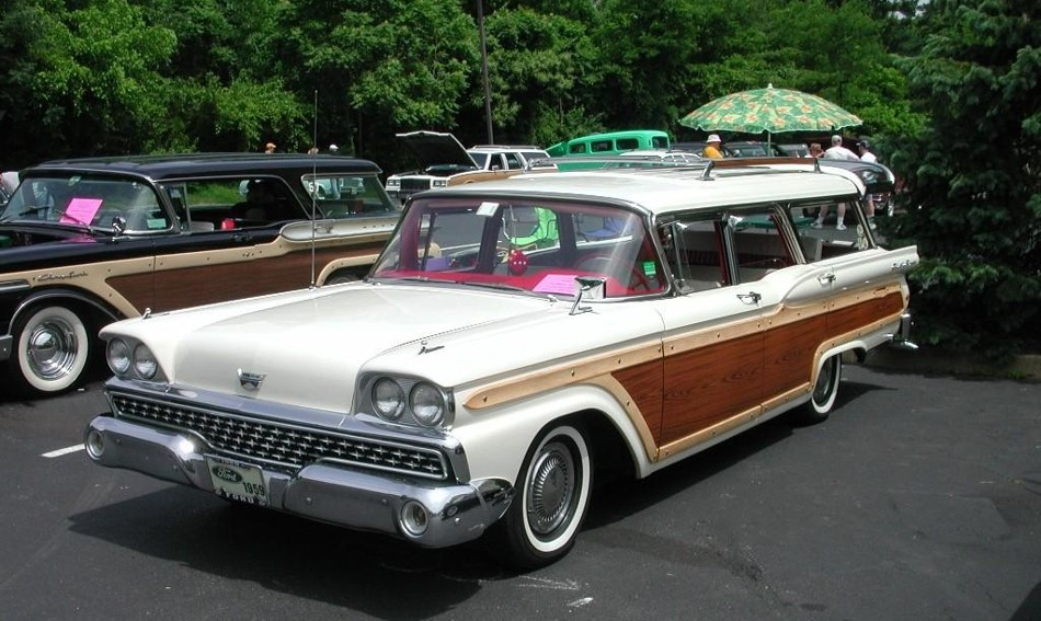 1950 Ford Country Squire Station Wagon