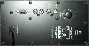 Logitech Z640 Subwoofer Mod