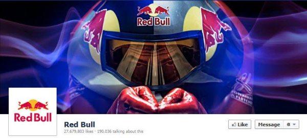 Facebook Red Bull