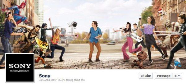 Facebook Sony
