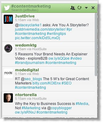 Hashtags content marketing