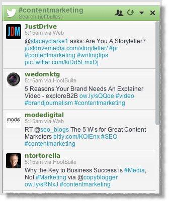 Hashtags content marketing