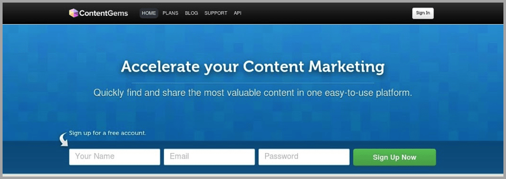 Contentgems image for content creations apps