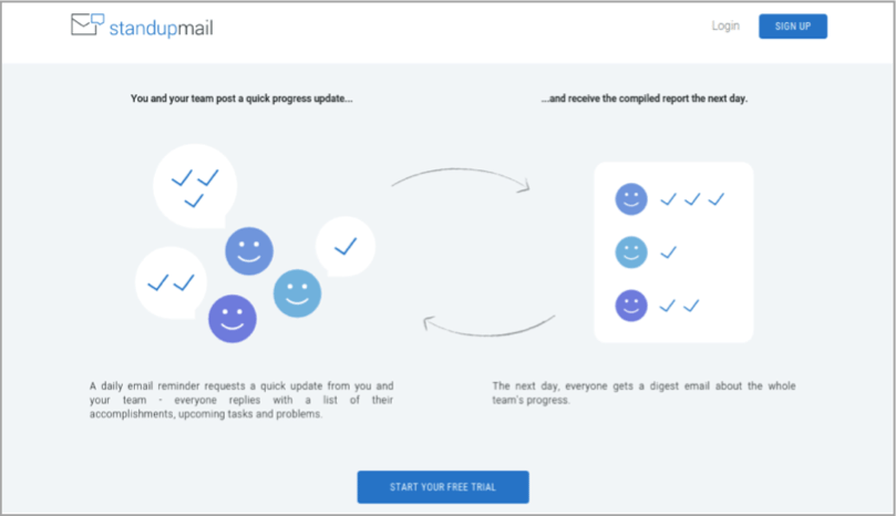 Standupmail - tool for how to outsource your content creation