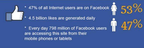 Facebook social media facts