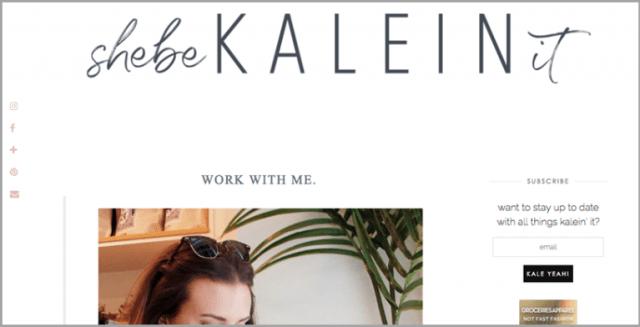 KaleInIt's Work With Me