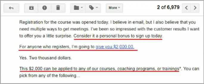 email from Bryan Kreuzberger