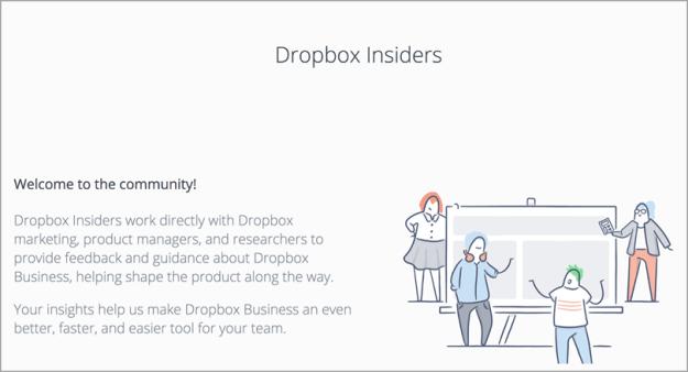 "Dropbox ""The world needs your creativity"" for survey data"