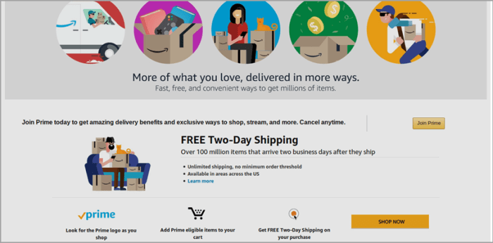 Simplify the Shipping Process like Amazon for Free Shipping