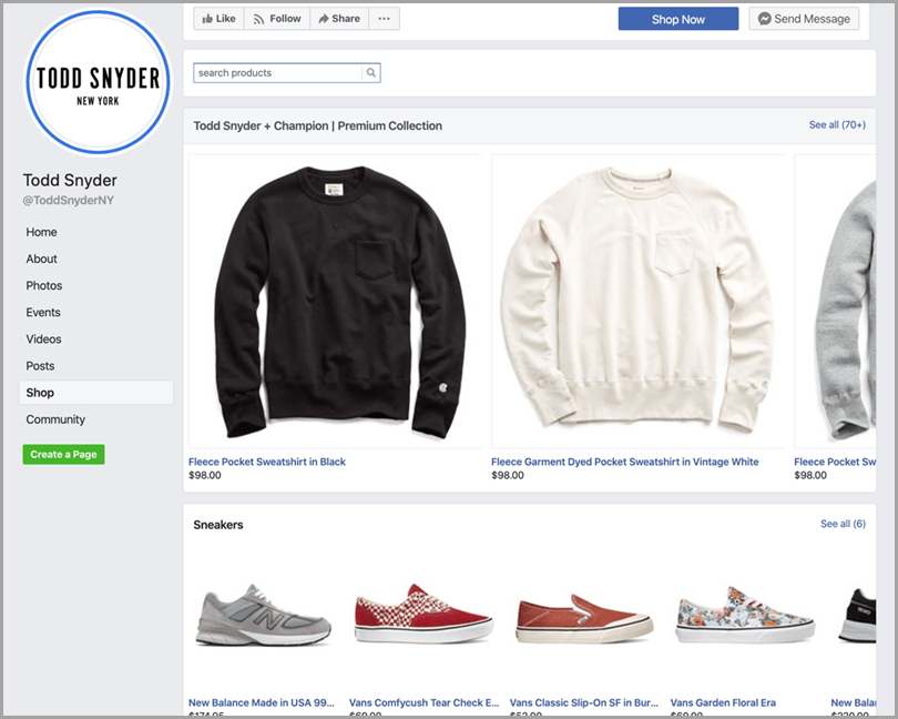 create a facebook store for facebook ecommerce